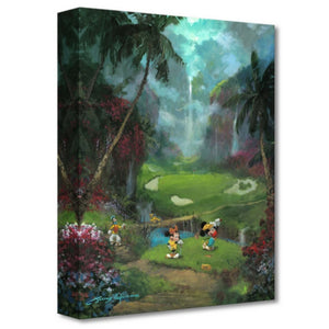 17TH TEE IN PARADISE by James Coleman - Treasure