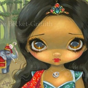 Faces of Faery #192 by Jasmine Becket Griffith
