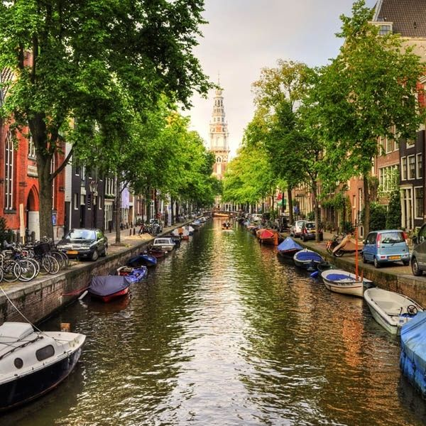 Amsterdam Canal Handcrafted Wooden Puzzle - 125 pieces