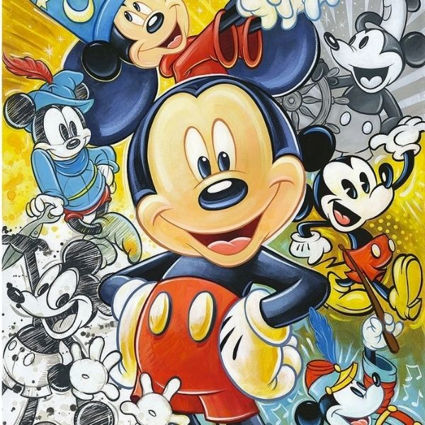 90 Years of Mickey By Tim Rogerson