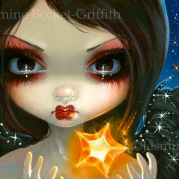 Faces of Faery #231 by Jasmine Becket Griffith