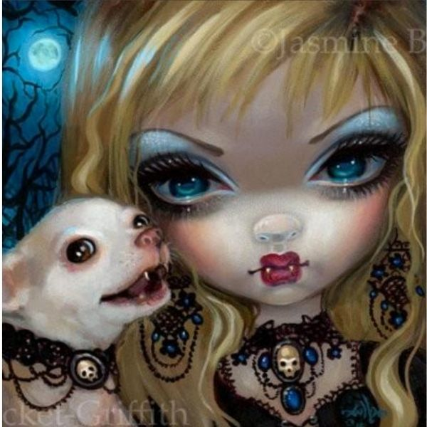 Faces of Faery #235 by Jasmine Becket Griffith