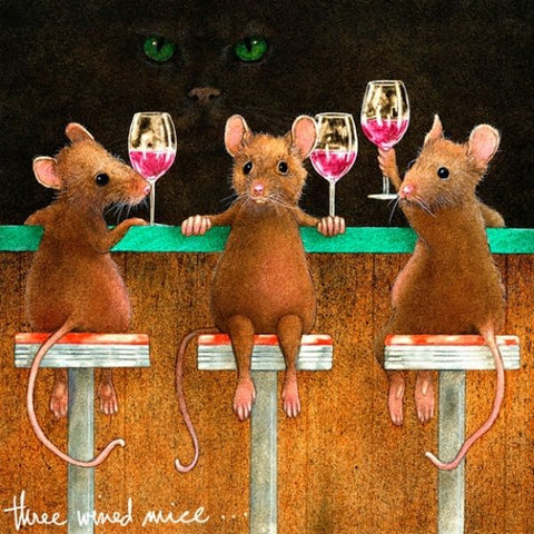 Three Wined Mice by Will Bullas