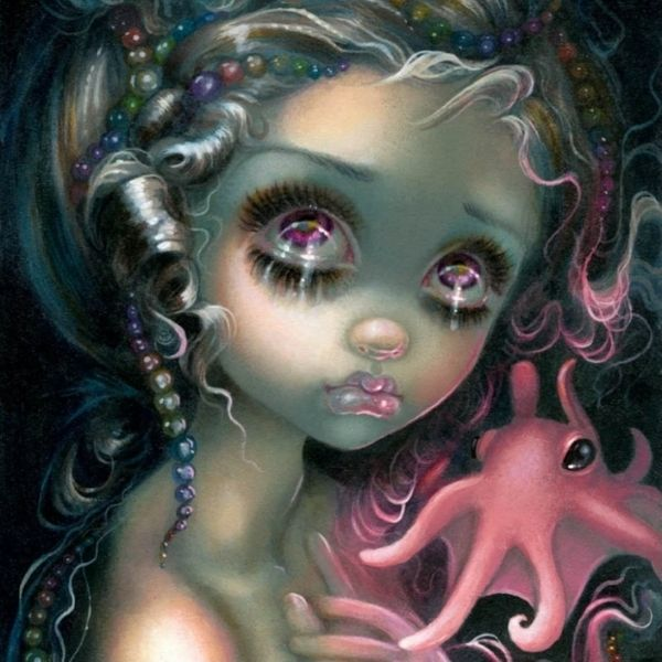 Dumbo Octopus Mermaid by Jasmine Becket Griffith