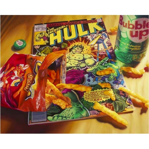 Cheetos Hulk by Doug Bloodworth