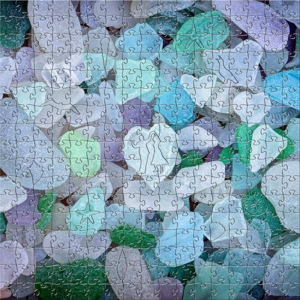 Sea Glass Wooden Puzzle - 204 pieces