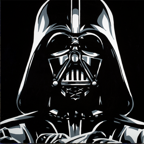 Darth Vader by Allison Lefcort - Gem Collection