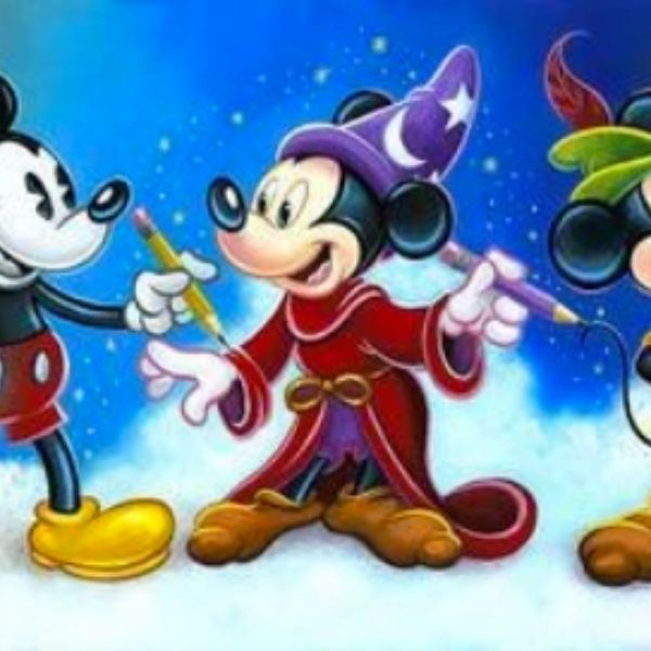 Mickey's Creative Journey by Tim Rogerson