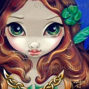 Faces of Faery #72 by Jasmine Becket Griffith