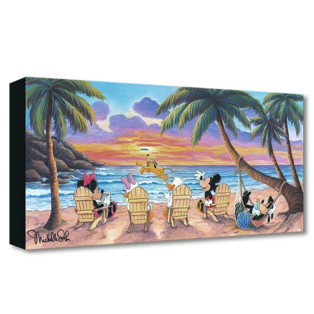 "Disney's Michelle St Laurent ""BEAUTIFUL DAY AT THE BEACH"""
