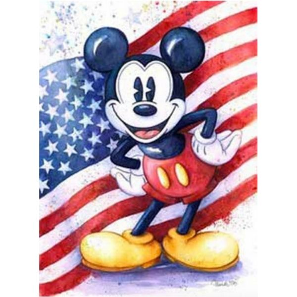 "AMERICAN MOUSE by Michelle St Laurent - 24"" x 18"" Limited Edition"