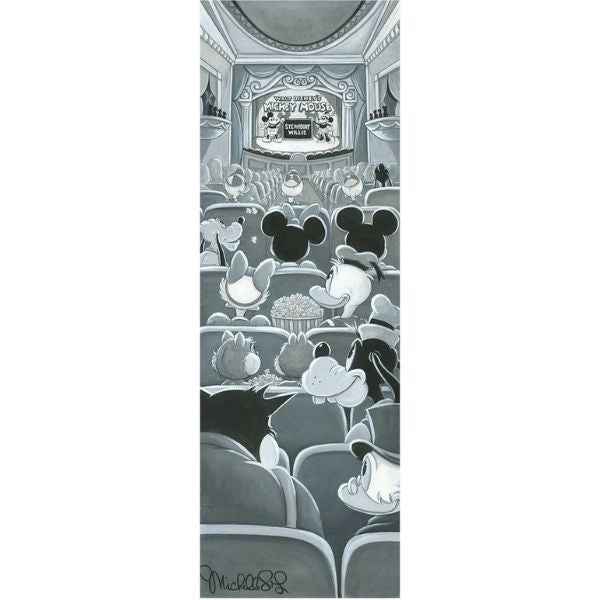 "A NIGHT AT THE THEATRE by Michelle St Laurent - 36"" x 12"" Limited Edition"
