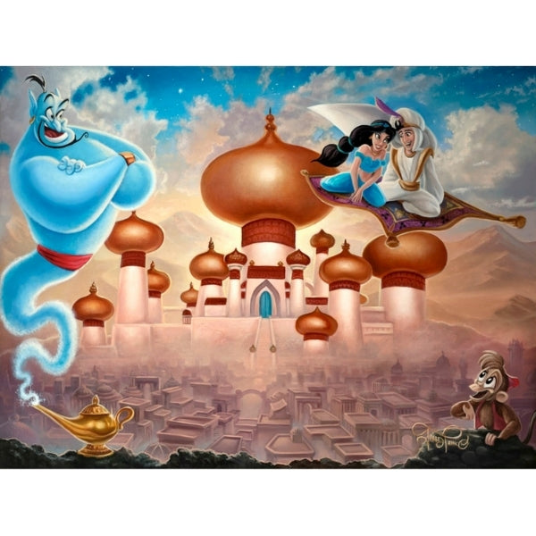 "A Whole New World by Jared Franco - 24"" x 32"" Limited Edition"