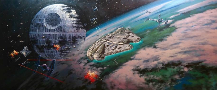 BATTLE OF ENDOR by Rodel Gonzales - Limited Edition