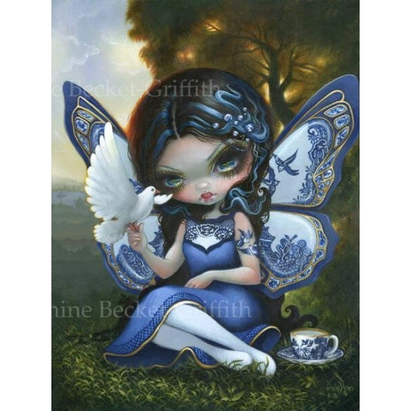 BLUE WILLOW FAIRY by Jasmine Becket Griffith