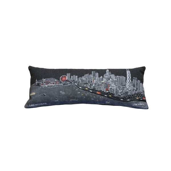 PILLOW Chicago Night