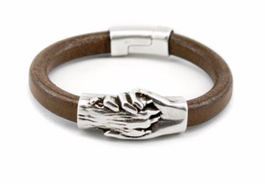 DOG PAW LEATHER BRACELET