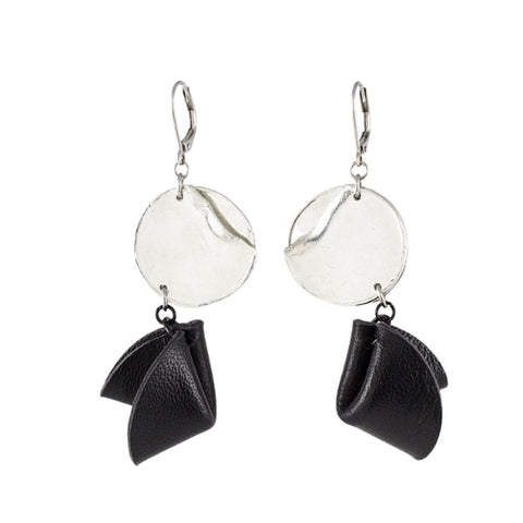 EARRINGS-SIGRID - Pewter