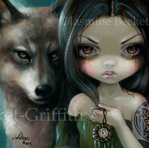 Faces of Faery #226 by Jasmine Becket Griffith
