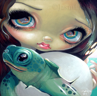 Faces of Faery #164 by Jasmine Becket Griffith