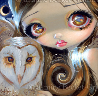 Faces of Faery #176 by Jasmine Becket Griffith