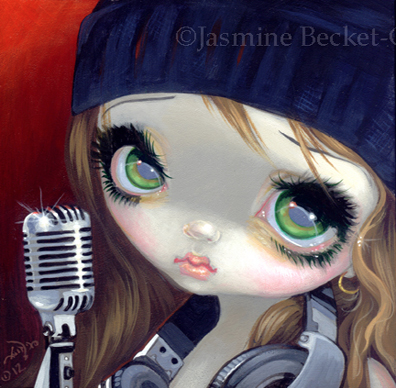 Faces of Faery #186 by Jasmine Becket Griffith