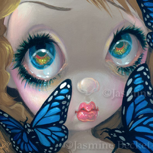 Faces of Faery #188 by Jasmine Becket Griffith