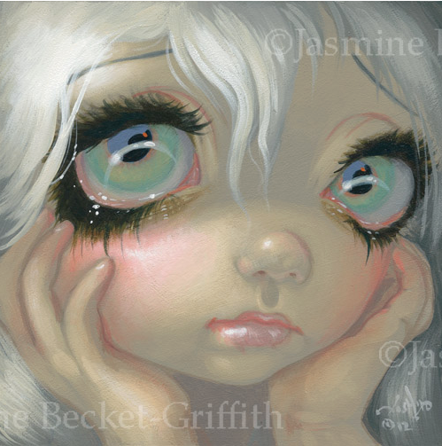 Faces of Faery #195 by Jasmine Becket Griffith
