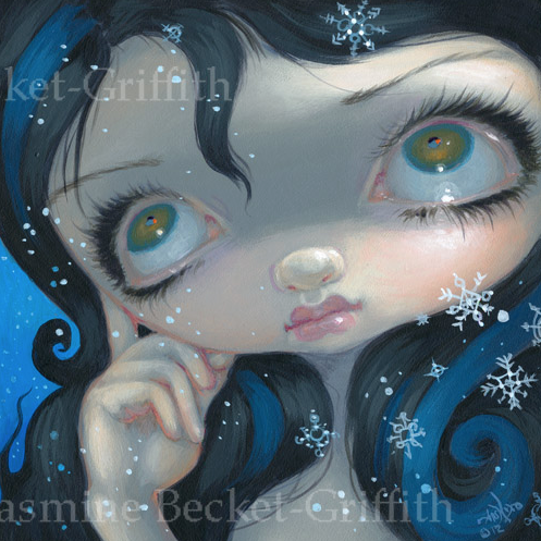 Faces of Faery #203 by Jasmine Becket Griffith