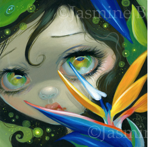 Faces of Faery #207 by Jasmine Becket Griffith
