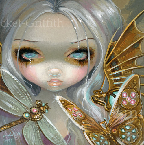 Faces of Faery #208 by Jasmine Becket Griffith