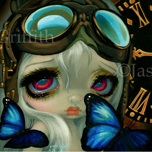 Faces of Faery #217 by Jasmine Becket Griffith