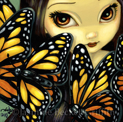 Faces of Faery #90 by Jasmine Becket Griffith