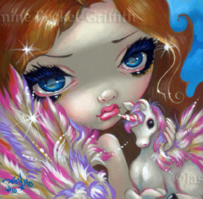 Faces of Faery #95 by Jasmine Becket Griffith