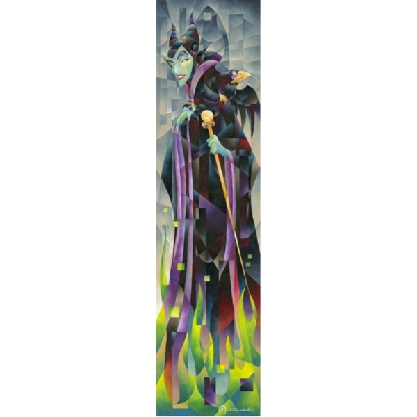 "Flames of Maleficent by Tom Matousek - 48"" x 12"" Limited Edition"