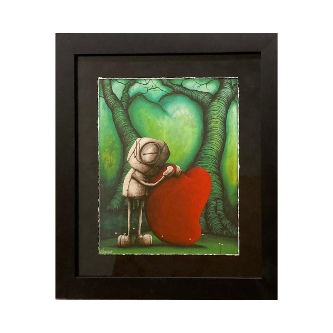 WHO WOULD I BE WITHOUT YOU  by Fabio Napoleoni - FRAMED