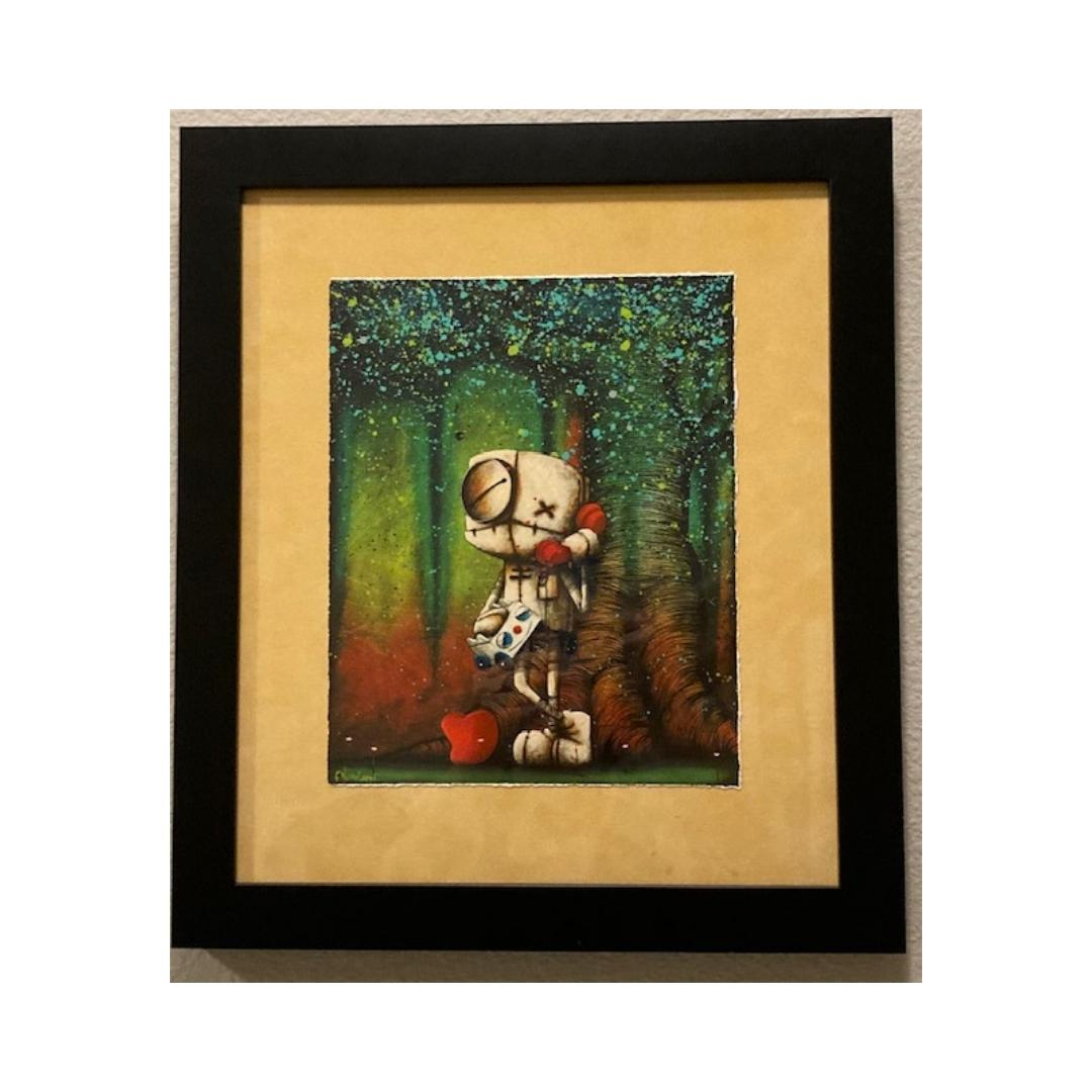 YOUR VOICE MAKES MY HEART SING  by Fabio Napoleoni - FRAMED