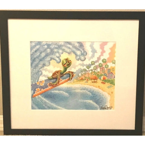 SURF'S UP  by Nathan Szerdy - FRAMED