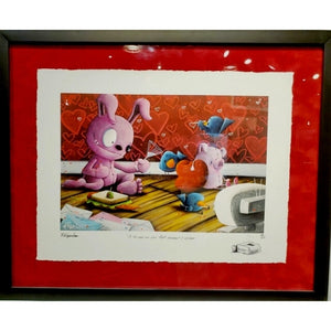 TO THE ONES WE LOVE  by Fabio Napoleoni - FRAMED
