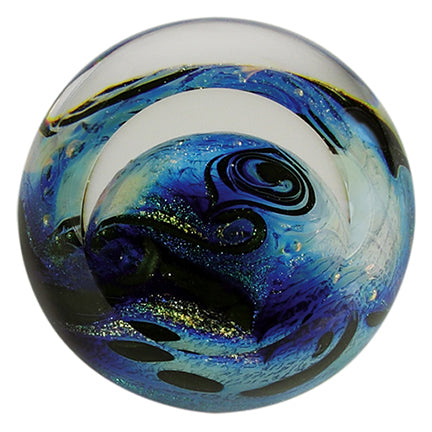 BLUE PLANET Celestial Paperweight
