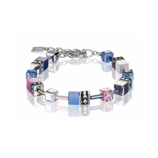 Geo Cubes & Crystals - Lavender & Pink