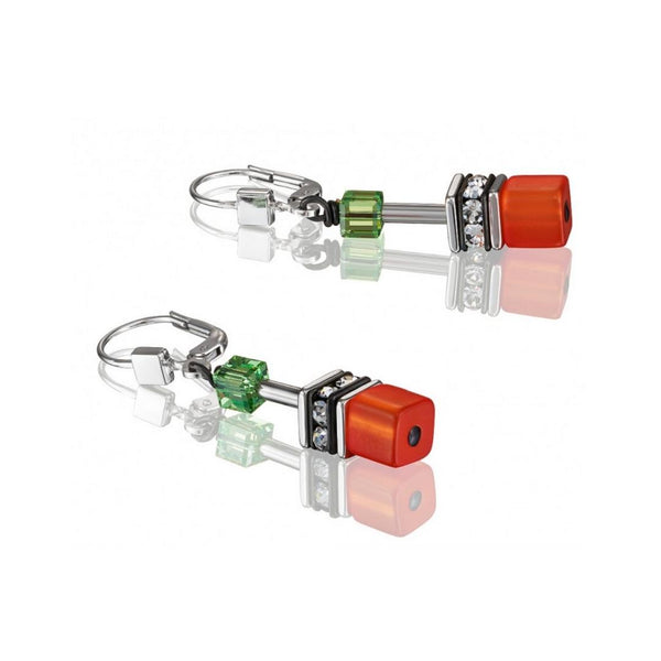 Geo Cubes & Crystals - Multicolor Orange, Yellow, Green