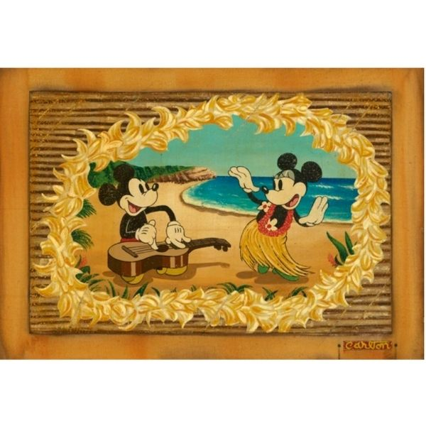 "HULA IN PARADISE by TREVOR CARLTON - 22"" x 32"" Limited Edition"