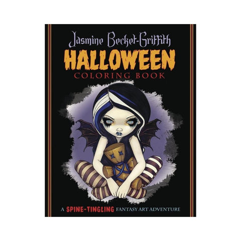 "Jasmine Becket Griffith COLORING BOOK - ""Halloween"""