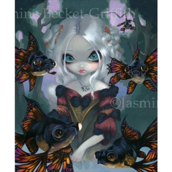 Limited Edition - POISSONS VOLANTS:LES YEUX GLOBULEUX by Jasmine Becket Griffith