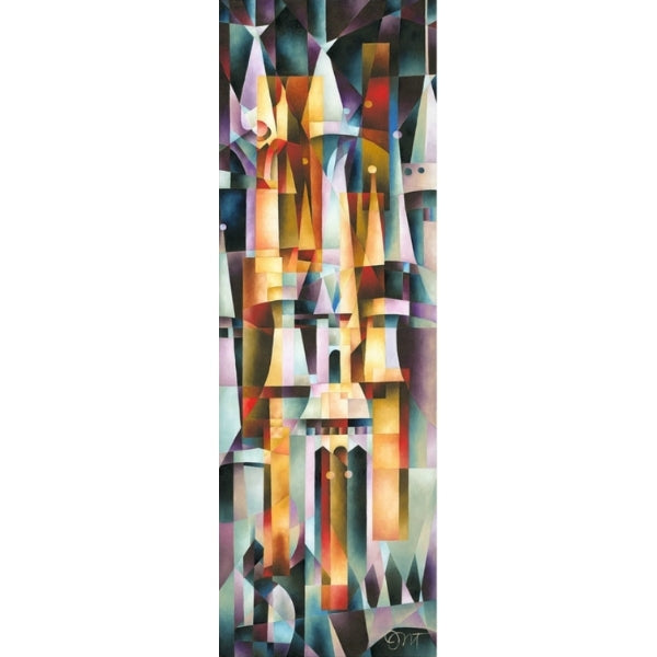 "Majestic Palace by Tom Matousek - 42"" x 14"" Limited Edition"