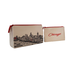 MAKEUP BAG Chicago Day