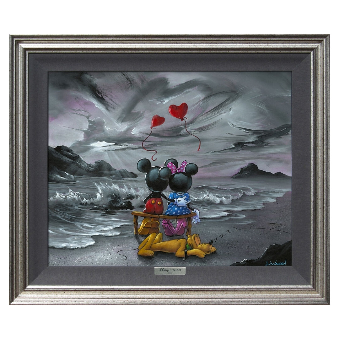 MICKEY AND MINNIE FOREVER by Jim Warren - Silver Series