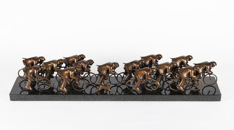THE RACE by MacKenzie Thorpe - Sculpture