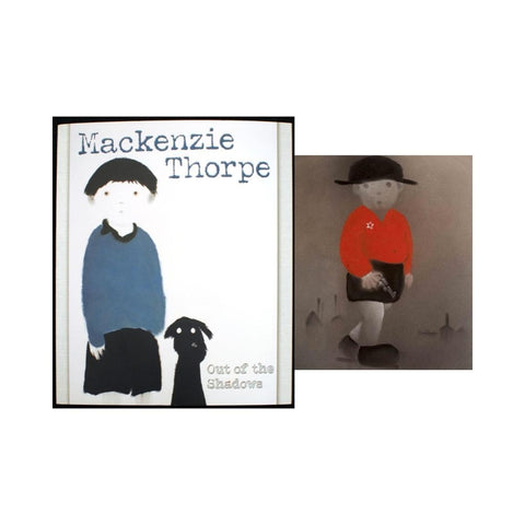"Mackenzie Thorpe BOOK - ""OUT OF THE SHADOWS""- Limited Edition"
